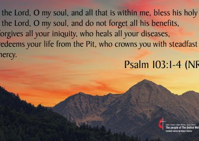 Psalm 103 1-4 (NRSV)